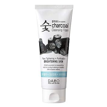 Sữa rửa mặt than hoạt tính Dabo Charcoal Cleansing Foam 150ml - SRM_THAN