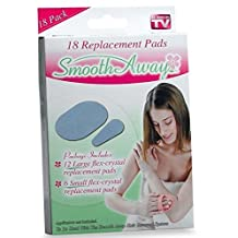 Smooth Away Hair Removal [18 replacment pads] As Seen on TV by Smooth Away