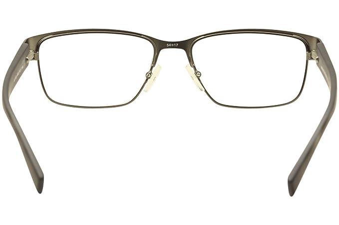 b0a2b31fc9e Armani Exchange AX1020 Eyeglass Frames 6093-54 - Matte Gunmetal  Amazon.ca   Clothing   Accessories