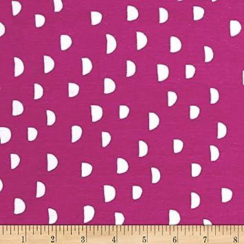 ab8f4fb54a2 Amazon.com: Cotton + Steel Jersey Knit Dress Shop Moons Orchid ...