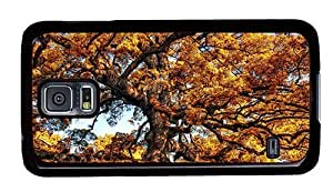 Hipster rugged Samsung Galaxy S5 Case giant tree autumn PC Black for Samsung S5
