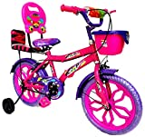 Loop Bikes Pink Purple 16 Inch Bicycle For 5 To 8 Age Group