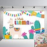 Best Funs For Parties - Mehofoto Fiesta Llama Backdrop A Whole Llama Fun Review