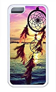 iPhone 5c case, Cute Dreamcatcher 2 iPhone 5c Cover, iPhone 5c Cases, Soft Whtie iPhone 5c Covers by mcsharks