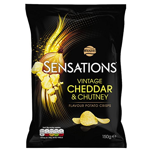 Walkers Crisps Sensations Vintage Cheddar And Red Onion Chutney 160G ()