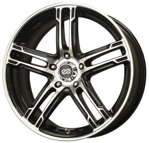 16x7 Enkei FD-05 (Gunmetal / Machined) Wheels/Rims 5x114.3 (434-670-6538GMM) Kia Sportage Rims