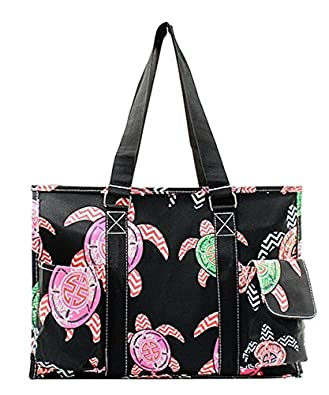 This wipeable tote is great and has pockets to hold all of your stuff!