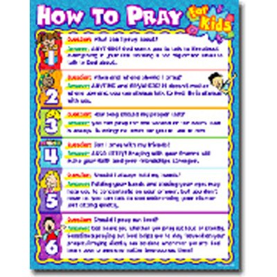 How to Pray for Kids Poster [Set of 3] ()