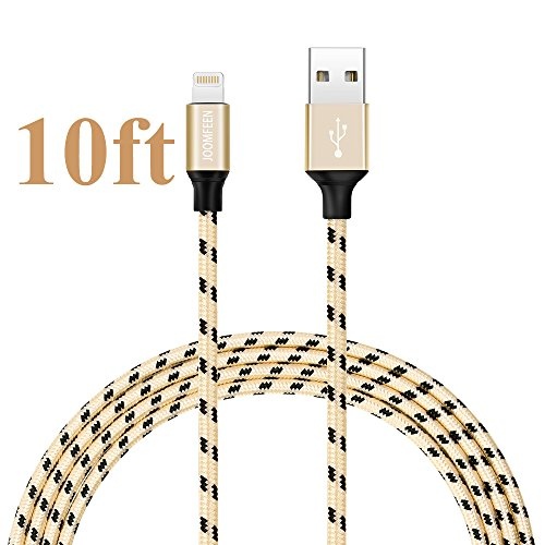 JOOMFEEN Braided Charging Charger iPhone
