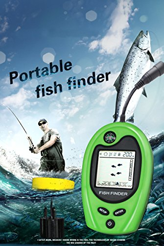 Fish finder fishing gear portable fish finder portable for Ice fishing depth finder