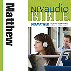 NIV Audio Bible, Dramatized: Matthew