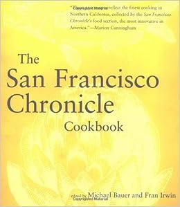 'San Francisco Chronicle' Cookbook