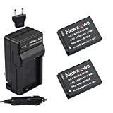 Newmowa EA-BP85A Battery (2-Pack) and Charger kit for Samsung BP85A, EA-BP85A, PL210, SH100, WB210