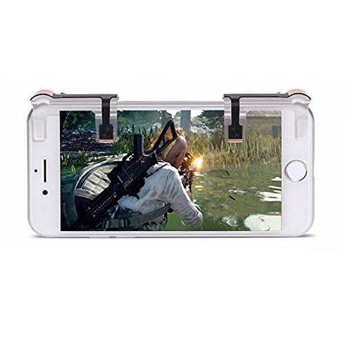 Mando del botón (handle grip) de 1 pares de juegos para teléfonos móviles Controlador de tiradores L1-R1,winner winner...
