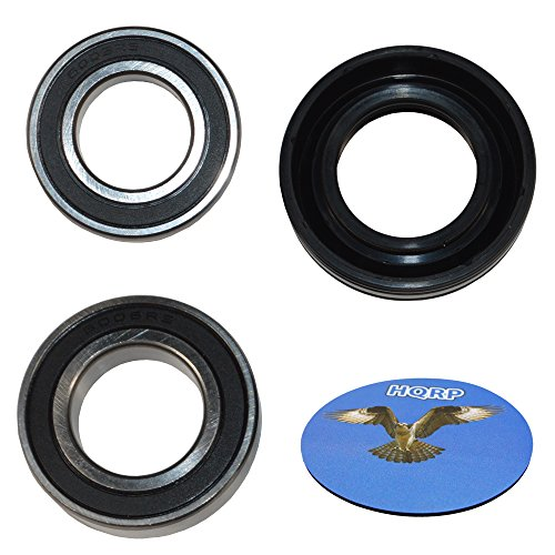 Price comparison product image HQRP Bearing and Seal Kit for Maytag MTW6300TQ0 MTW6300TQ1 MTW6400TQ0 MTW6500TQ0 MTW6600TB0 MTW6600TB1 MTW6600TQ0 MTW6600TQ1 MTW6700TQ0 Washer Tub + HQRP Coaster