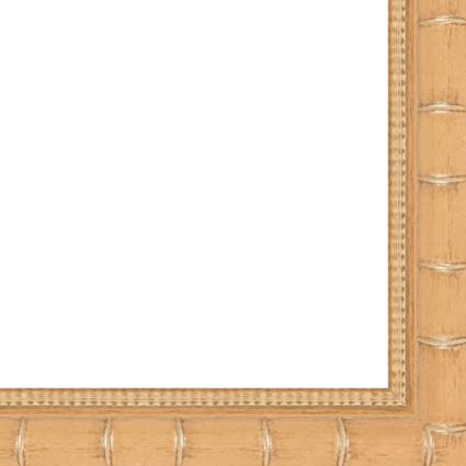 Amazoncom 2 Bamboo Naturallight Brown Wood Frame Arts Crafts