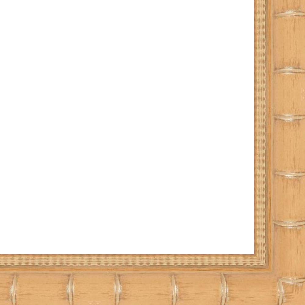 18x24 2'' 'Bamboo' Natural/Light Brown Wood Frame - Great for Posters, Photos, Art Prints, Mirror, Chalk Boards, Cork Boards and Marker Boards