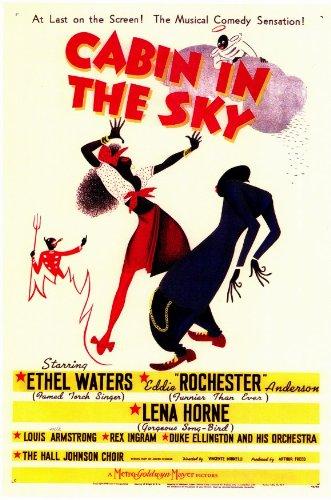 Cabin in the Sky Poster Movie 11x17 Ethel - Cabin In The Sky Dvd