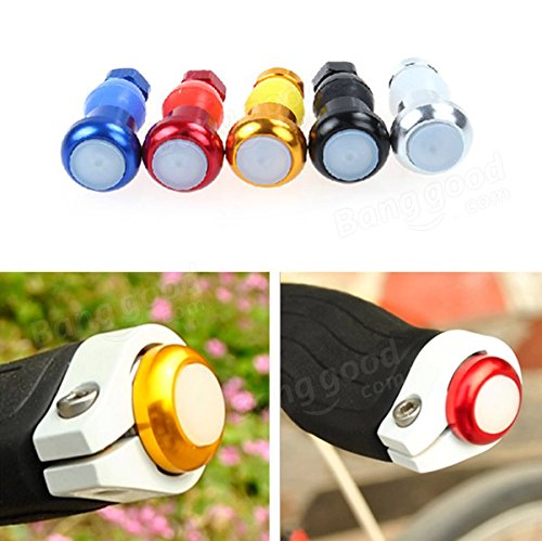 Bicycle Handlebar Light Cycling LED Bar End Plugs Safety Signals ( Gold ) by Freelance Shop SportingGoods (Image #2)
