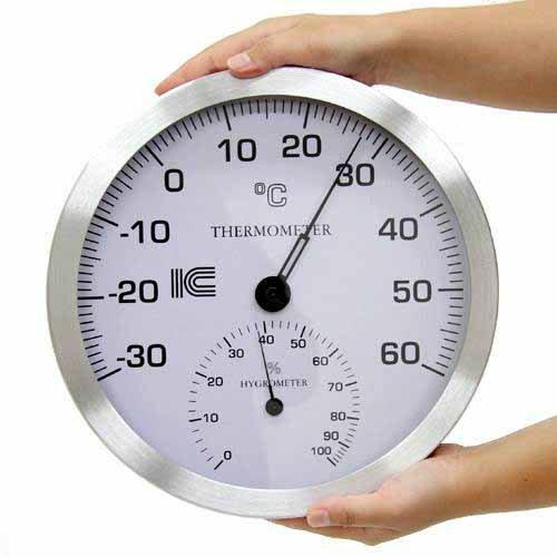 直径300 業務用温湿度計 B01M0WRA6O