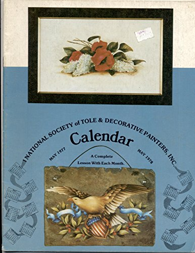 - National Society of Tole and Decorative Painters 1977 - 1978 Calendar