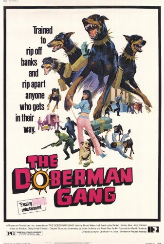 Amazon. Com: 27 x 40 the doberman gang movie poster: posters & prints.