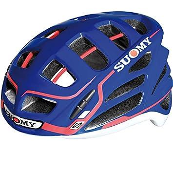SUOMY Casco Bicicleta Carretera Gun Wind S-Line Azul/Rojo Talla L (Cascos