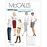 McCall's Patterns M3830 Misses' Skirts In 5
