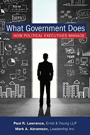 what government does how political executives manage