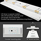 Konlite 2 Pack Linear LED Bay Ceiling Shop Light