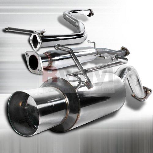 Spec-D Tuning MFCAT2-CV923 Honda Civic 3Dr 3D Hatchback Exhaust Catback System