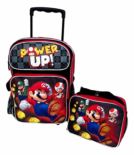 super mario rolling backpack - 9