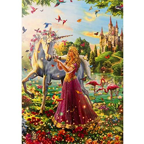 (Princess and Unicorn 100 Piece Kid's Jigsaw Puzzle)