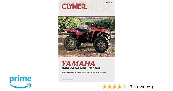 Yamaha moto 4 big bear 1987 2004 clymer motorcycle repair yamaha moto 4 big bear 1987 2004 clymer motorcycle repair penton staff 9780892879304 amazon books fandeluxe Choice Image