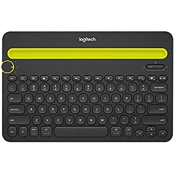 Logitech Bluetooth Multi-Device Keyboard K480 – Black – works with Windows  and Mac Computers, Android and iOS Tablets and Smartphones