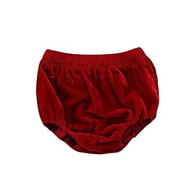 Gogolan Infant Baby Toddler Unisex Underwear Velvet Bloomer Shorts Panties