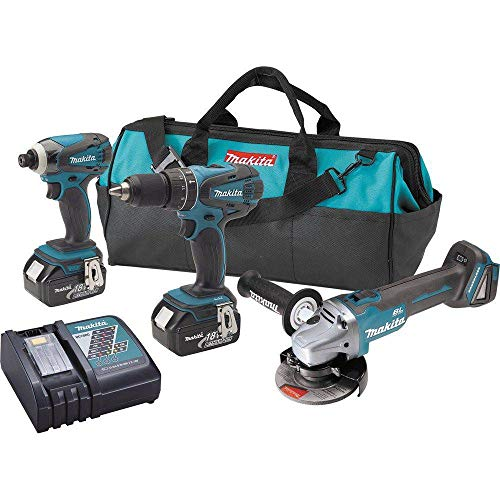 Makita XT324-R 18V LXT Cordless Lithium-Ion 2-Pc Kit with Fr