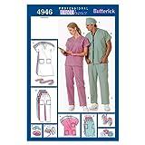 BUTTERICK PATTERNS B4946 Unisex Uniforms