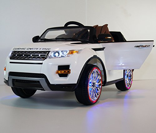 pink range rover power wheel - 3
