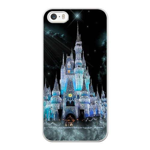 iPhone 5 5S SE Case, Disney World Cinderella Castle Cover For iPhone 5 5S SE Cell Phone Case White GHST6809471 (Iphone 5 Case Disney World compare prices)