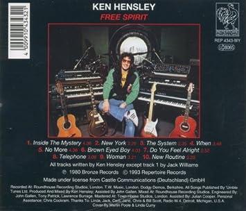 Hensley Ken Free Spirit Amazon Com Music