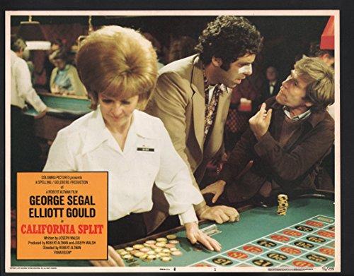 California Split Lobby Card-George Segal, Elliot Gould, and Ann Prentiss (California Split Dvd compare prices)