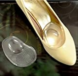 2 Pairs GEL Metatarsal Ball of Foot Ant-slip Pads Cushion for High Heels Feet Care Shoes Women Insoles