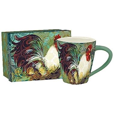 Lang Bohemian Rooster Café Mug by Susan Winget (2121020)
