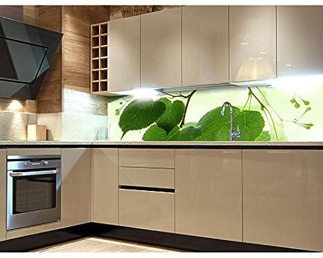 Pareti Della Cucina Verdi : La parete della cucina adesiva da parete foglie verdi cm