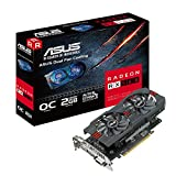 ASUS Radeon RX 560 16CU 2GB OC Edition GDDR5 DP HDMI DVI AMD Graphics Card (RX560-O2G)