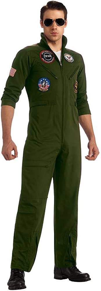 Top Gun US Navy Adult Flight Suit Costume