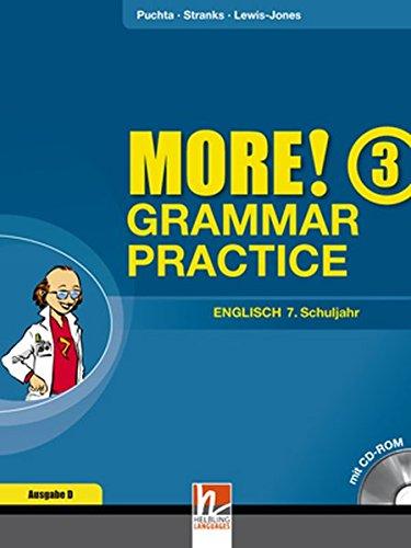 MORE! Grammar Practice 3, Ausgabe Deutschland und Schweiz, Übungsbuch mit CD-ROM für die 7. Jahrgangsstufe