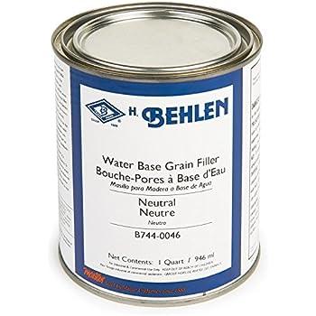 Water Base Grain Filler Neutral Quart Behlen Grain