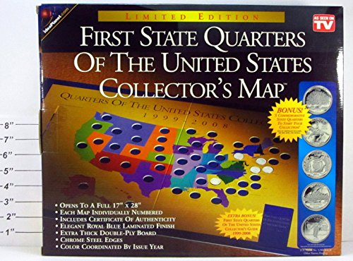 Image Result For First State Quarters Collectors Map
